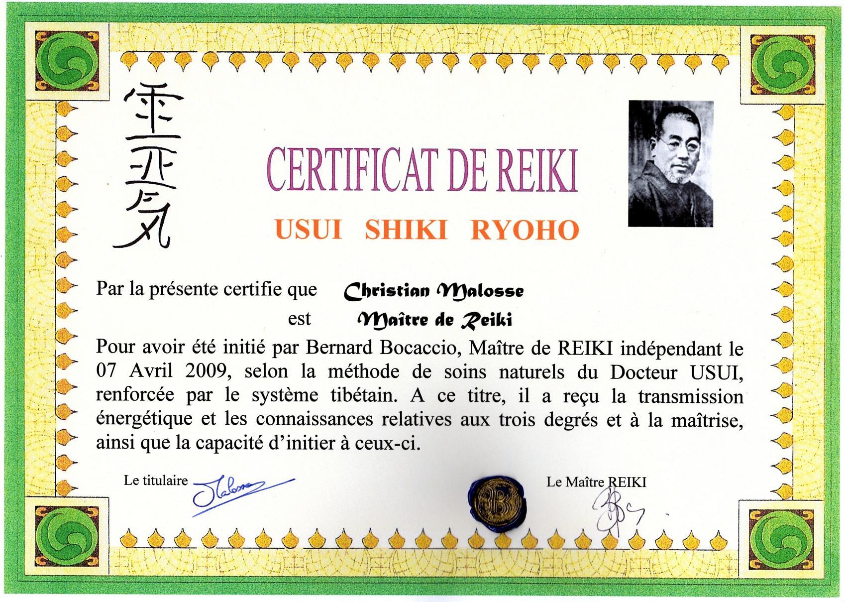 certificat IV